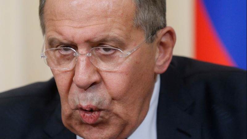 Lavrov slams US over Russian dip. property feud