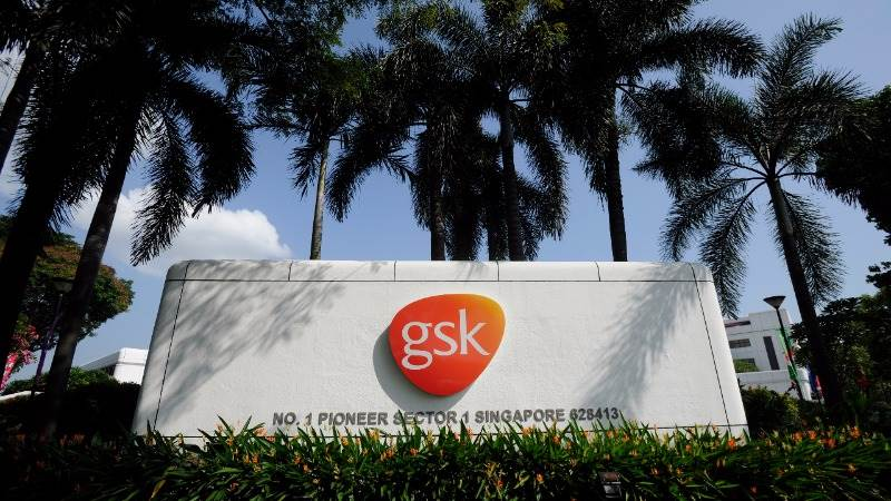 GSK reduces net loss per share by 59% to 3 7 pence