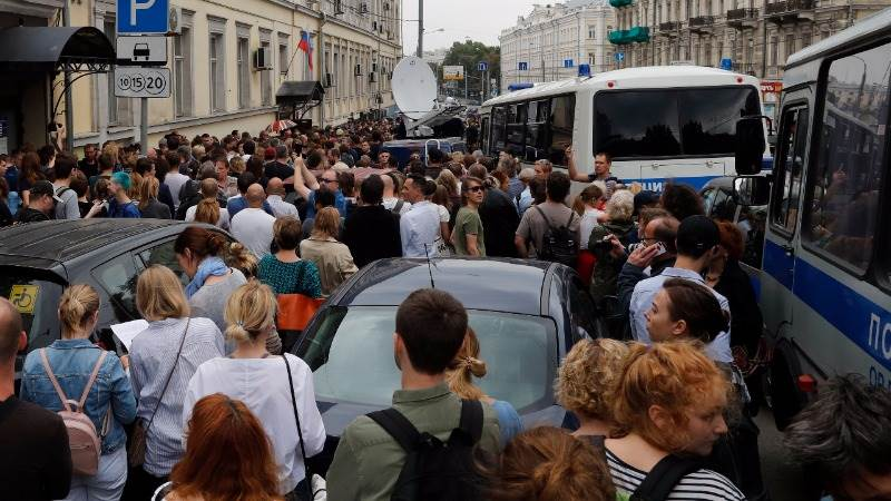 False alarm caused evacuation in Moscow