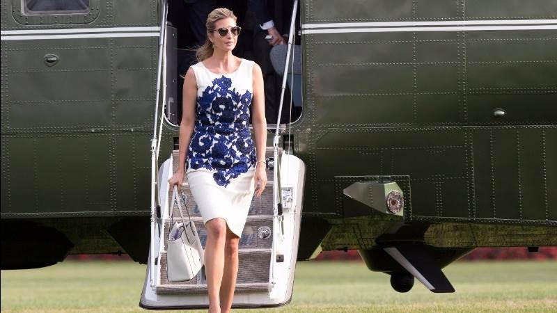 Trump retweets Ivanka on India visit