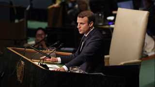 Macron: N. Korea poses 'existential threat'