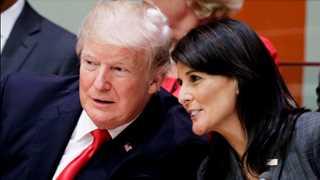 Trump to meet Haley at UN
