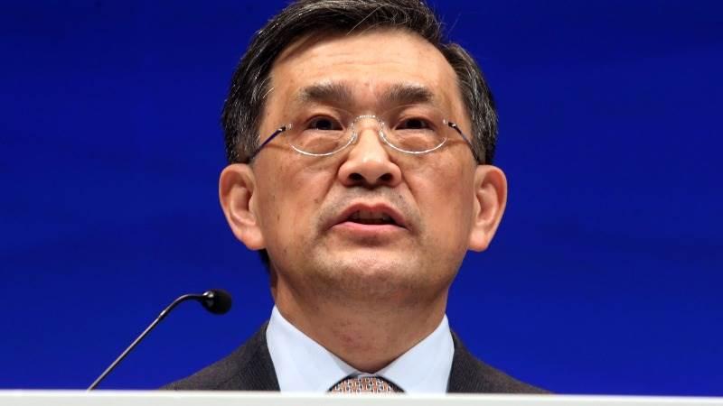 Samsung CEO resigns