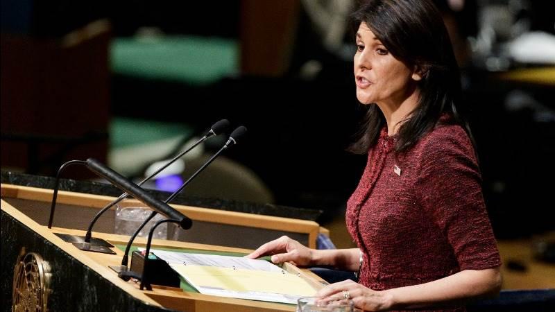 Haley: US will not tolerate Iran's dangerous behavior