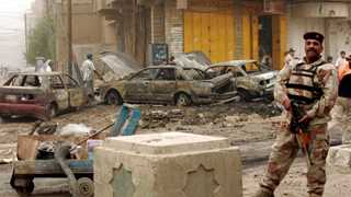 Two suicide bomb attacks in Baghdad kill 26