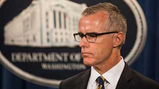 McCabe wrote personal memos about Trump - report