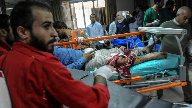US 'closely follows' alleged chemical attack in Douma