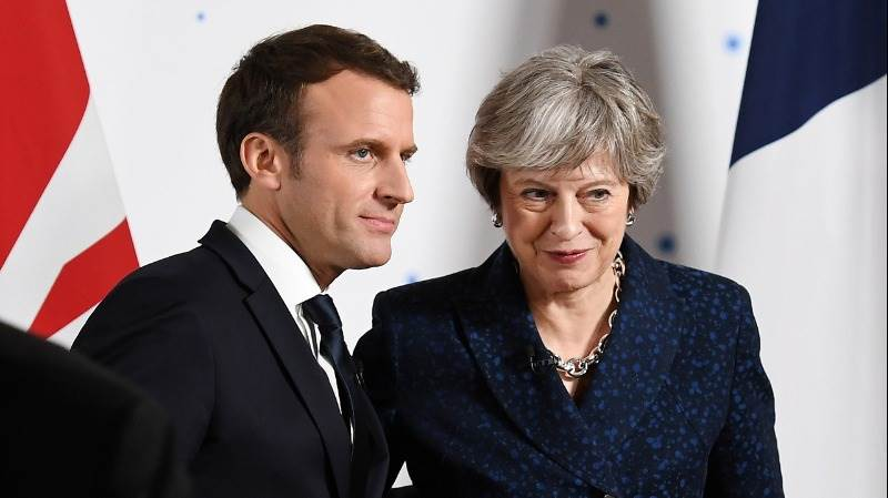 May, Macron order strikes against Syrian regime