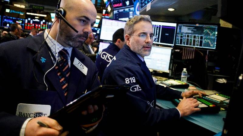 US markets open higher after Syria operation