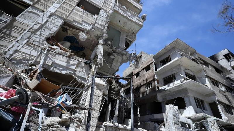 Russia may have tampered with Douma attack site - US