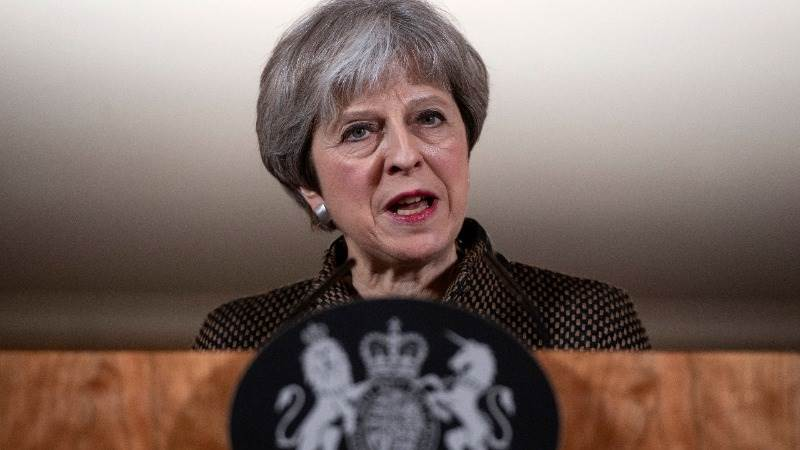 May: Diplomacy didn't work in Syria due to Russian veto