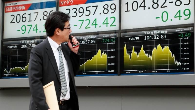 Asian markets mixed after China's data