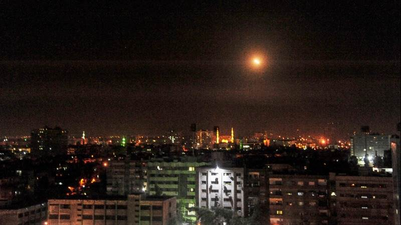 Syrian air defenses triggered by false alarm - report