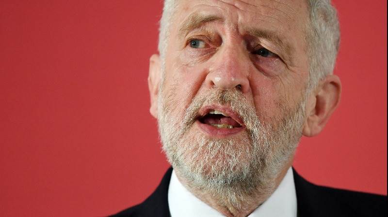 Syria attack 'flagrant disregard' of convention - Corbyn