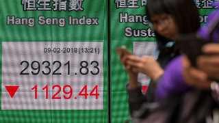 Asian markets higher ahead of Korean summit