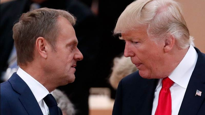 With friends like Trump, who needs enemies - EU's Tusk