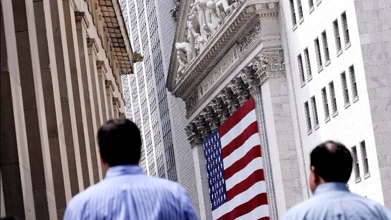 Wall Street seen slightly in the red, bonds in focus