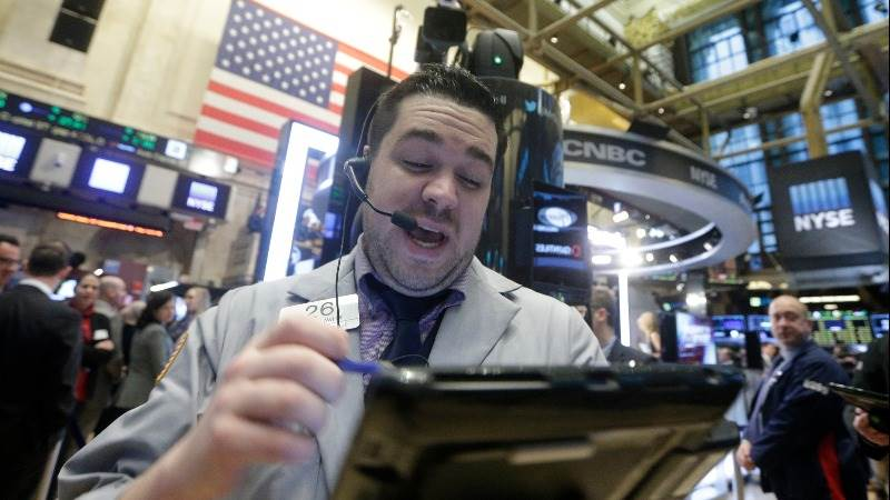 Wall Street opens lower amid rising interest rates