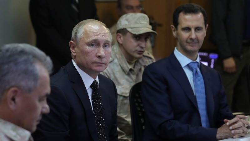 Assad paid official visit to Sochi, met with Putin - Kremlin