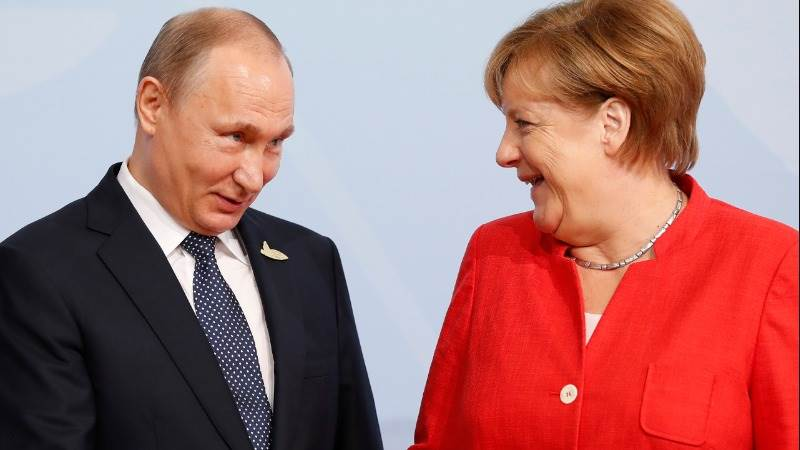 Putin, Merkel to meet in Sochi today