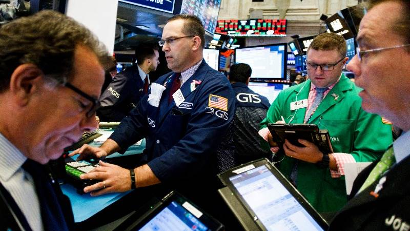 Wall Street opens lower as US and China talk trade