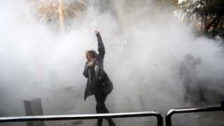 Two dead, dozens injured in Iran protests