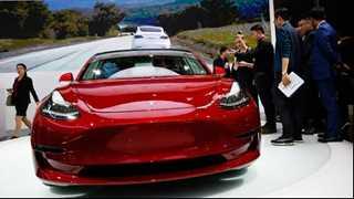 Musk unveils Tesla Model 3 dual motor details