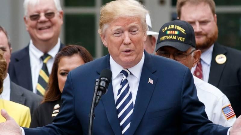 Trump: War games suspension to save fortune