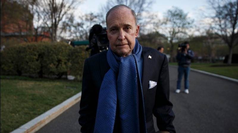 Kudlow released from hospital after heart attack