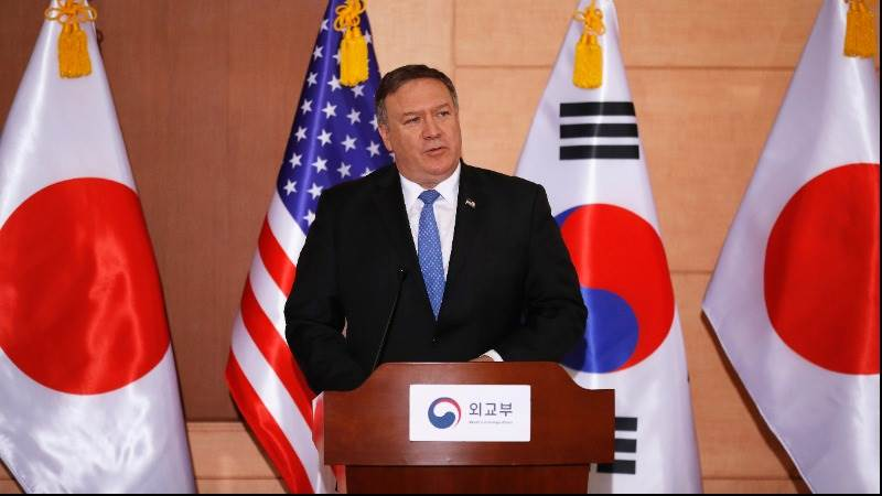 Pompeo: US not to lift N.Korea sanctions before denuclearization