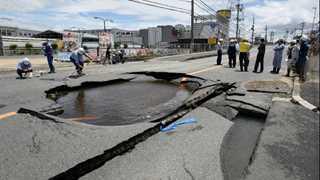 Over 90 injured in 6.1-magnitude Japan quake