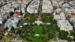 White House on lockdown over backpack in yard
