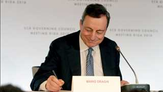 Draghi: Inflation gradually returning toward objective