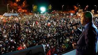 Erdogan declares victory: People showed their love
