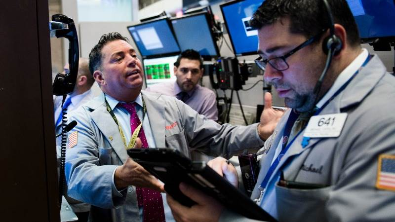 US equities end sharply in green on sentiment boost