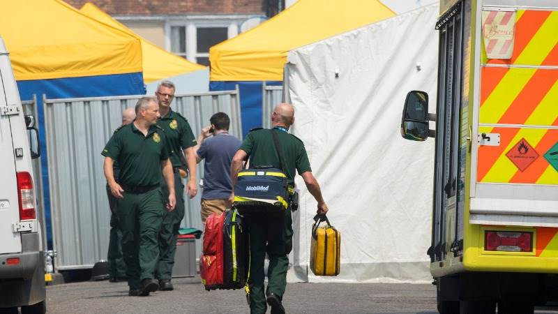 Police reopen Salisbury road after false alarm