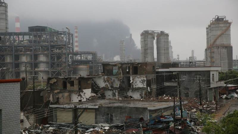 19 dead in chemical plant explosion in China