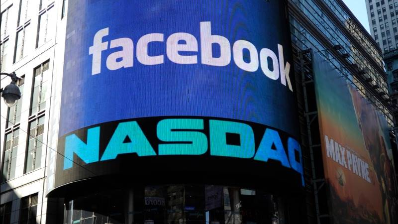Nasdaq 100, Amazon, FB touch record highs on open