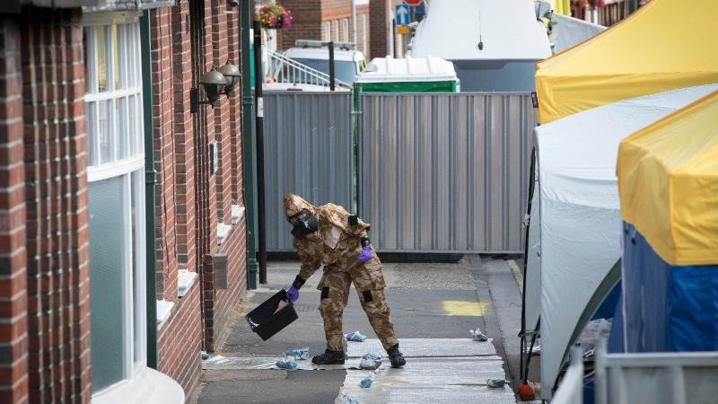 UK police find Novichok bottle in Amesbury