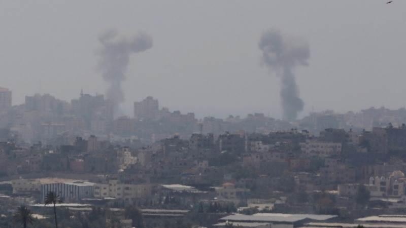 Israel strikes Hamas targets in northern Gaza