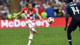 Modric wins Player of Tournament award