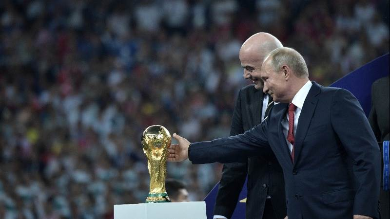 Putin: Russia blocked 25M cyber attacks during World Cup