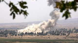 Israel strikes targets in western Syria - report