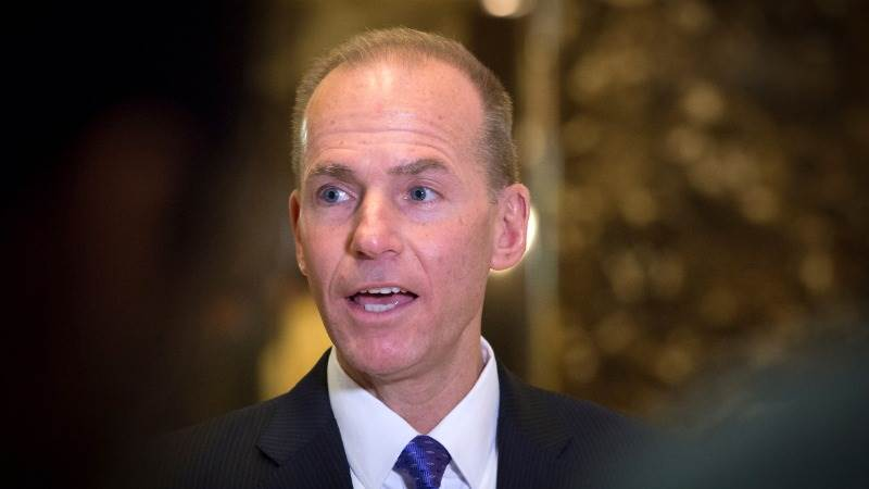 Boeing CEO: US admin supports us amid trade concerns