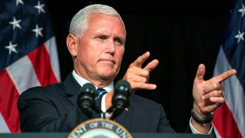 Pence: Bigotry, racism have no place in US society