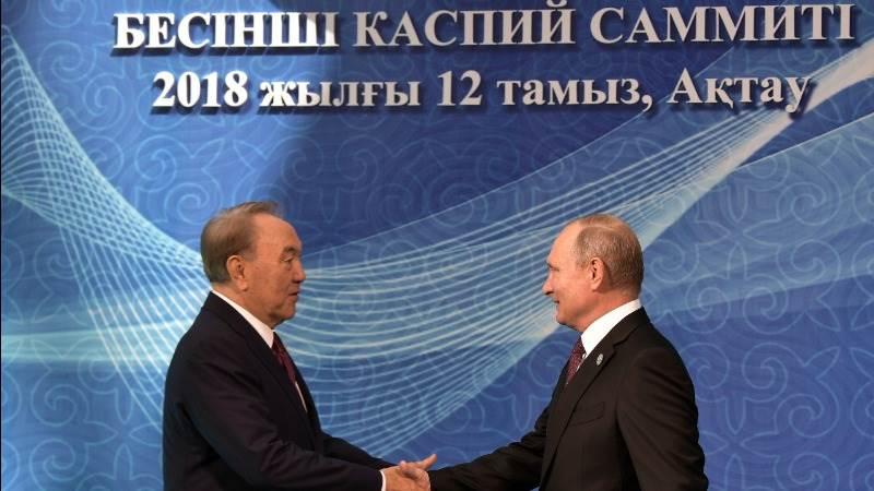 Caspian states strike deal to arrange sea's future