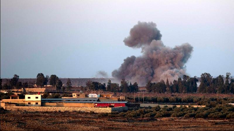 Arms depot blows up in Idlib province, 39 killed