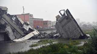Genoa bridge collapses, multiple casualties