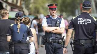 Barcelona police shoot attacker with knife