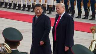 Trump: No time frame to end China trade row